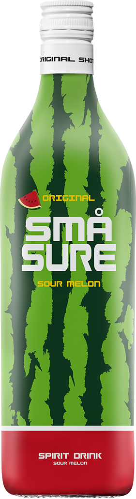 små sure sour watermelon shots