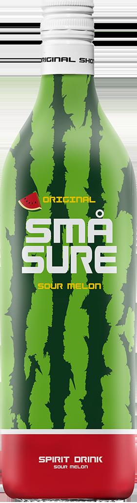 små sure sour watermelon shots